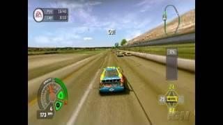 NASCAR 07 PlayStation 2 Gameplay - Take Control