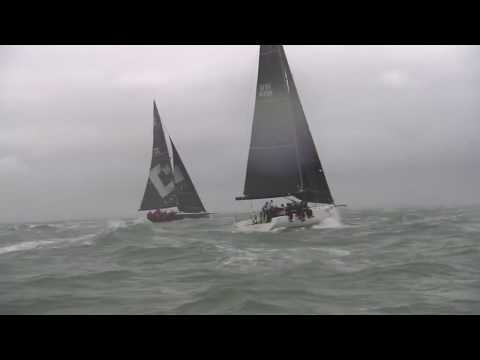 Big winds at Cowes Week 2017