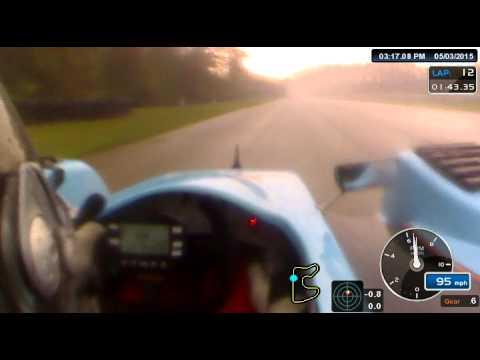 SCCA Race 2 Jason Miller #8 Kohler Powered Prototype 1 at Blackhawk Farms Raceway 5/3/15