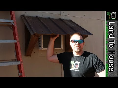 Air Conditioner Awning - Build a Workshop 37