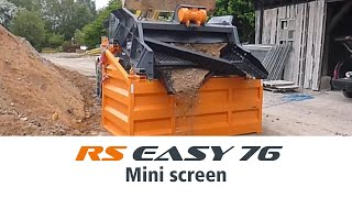Rockster Mini-Sieb / Mini-Screen RS EASY 76