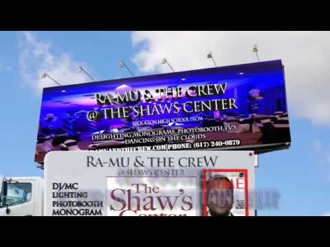 RA-MU AND THE CREW || BOSTON WEDDING AND EVENT DJ || @ THE SHAW'S CENTER BROCKTON MA 4-28-17