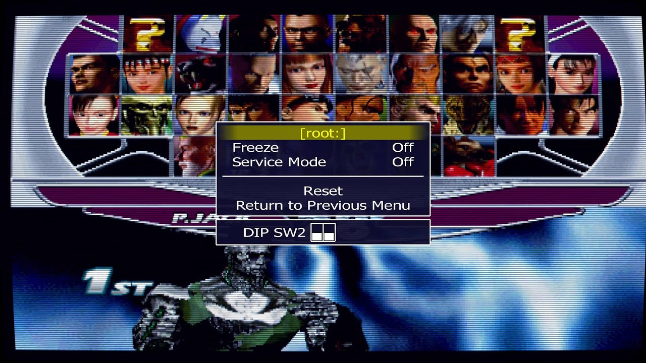 How to play Tekken Tag All Characters & how to Change 1coin 1credit