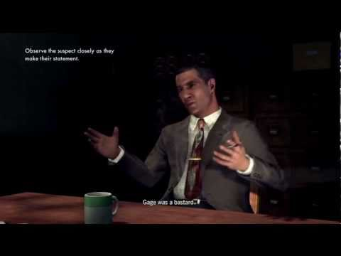 L.A. Noire Advanced Tutorial: Interrogating