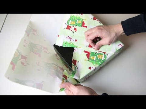 Wrap Gifts Without Any Tape or Ribbon Using This Japanese Method