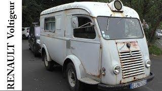 Renault Voltigeur (1945 - 1965) Kleintransporter mit Patina - Old van with patina