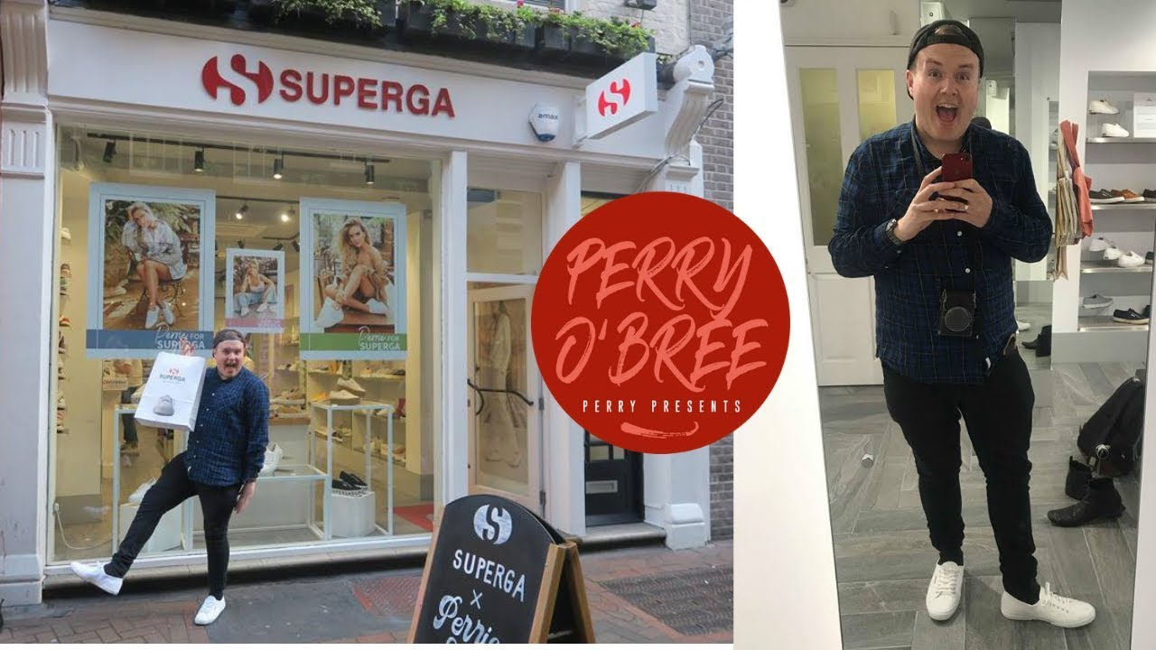Perrie For Superga Carnaby Street