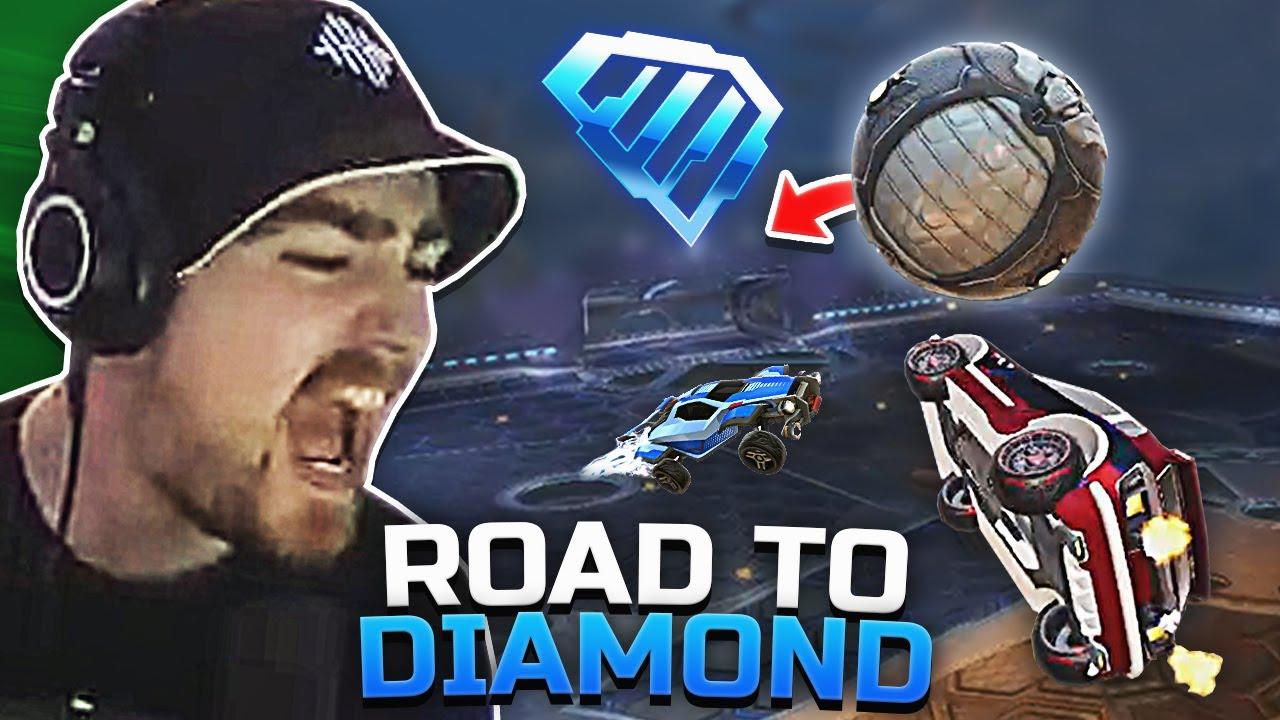 Modstander er smurf! *VINDER JEG PÅ FREESTYLE?* - Road to Diamond i Solo #1