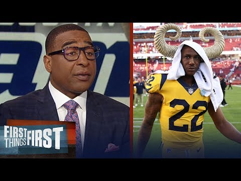 Cris Carter warns Marcus Peters ahead of Rams-Saints 'gumbo date' rematch   NFL   FIRST THINGS FIRST
