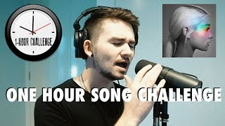 Recreating No Tears Left To Cry by Ariana Grande in ONE HOUR! | One Hour Song Challenge