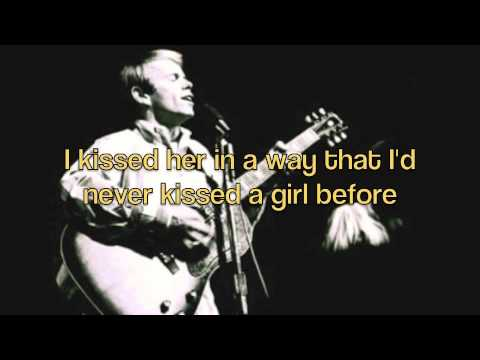 Then I Kissed Her - The Beach Boys (with lyrics)