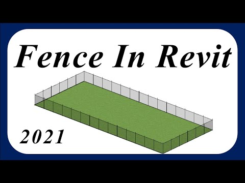 Revit Architecture | Fence tutorial in Revit