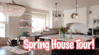 💰No Spend Easter Decor House Tour 🐰   Decorate With Me
