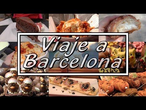 VLOG GASTRONÓMICO POR BARCELONA | Street food barato y de bueno || Con la masa en las manos