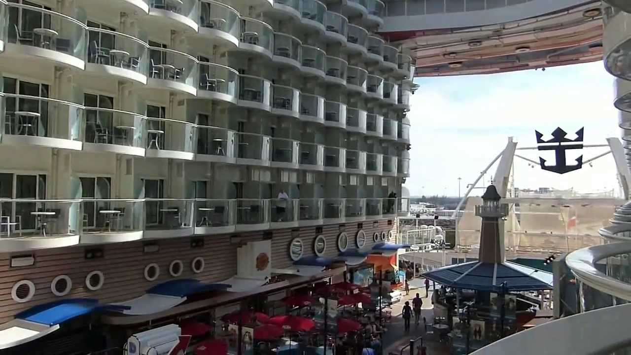 Allure Of The Seas Boardwalk And Cabin Tour Garth Brooks
