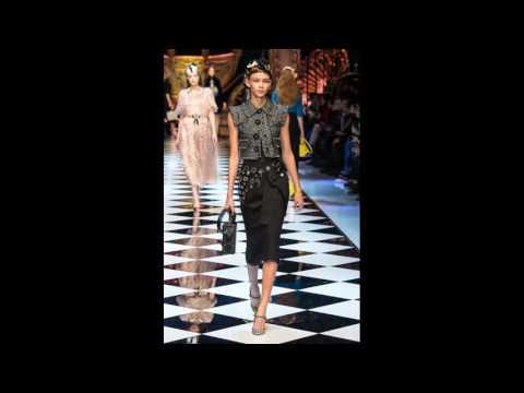 Неделя моды в Милане Dolce & Gabbana Осень-Зима 2016 -2017