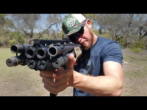 Homemade Quad Barrel Shotgun - QB12