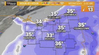 Tracking accumulating snow in Northeast Ohio this week: What to expect in your area