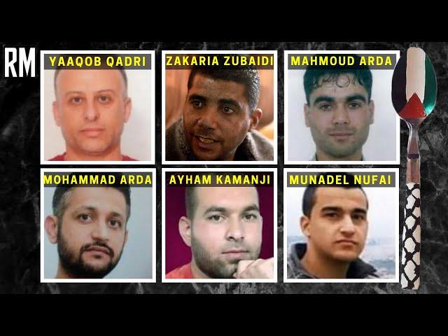All 6 Gilboa Escapees Rearrested