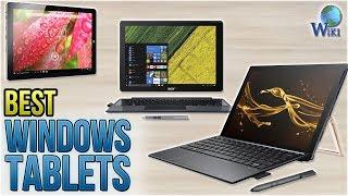 10 Best Windows Tablets 2018