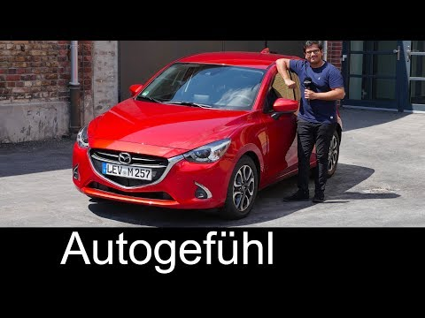Mazda2 FULL REVIEW Facelift GVC 2018 Mazda 2 - Autogefühl