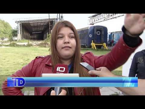 Vecinos esperan horas para acceder a la atención sanitaria en el Tren Argentino 1