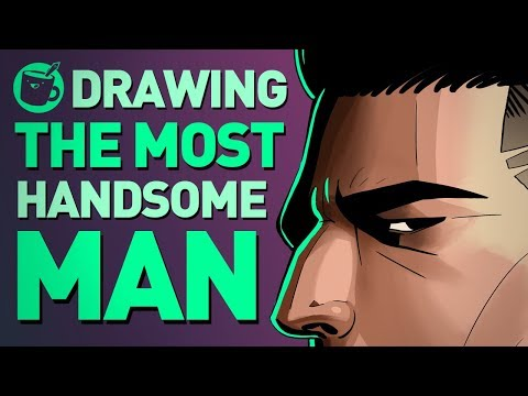 Artists Try To Draw The Most Handsome Man