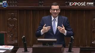 Mateusz Morawiecki podczas odpowiedzi na pytania po #exposePMM thumbnail