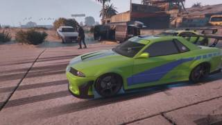 GTAV SUPERCARS & DRAG RACING #FF8