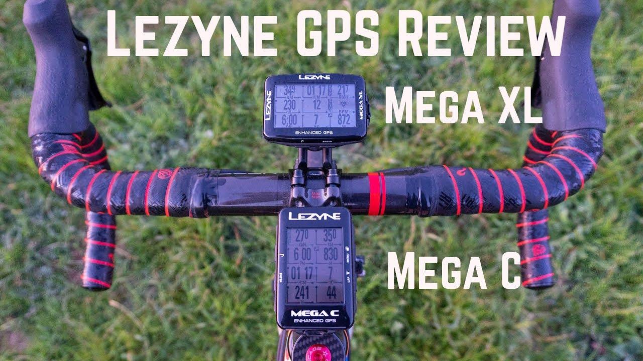 Lezyne Mega XL GPS review - LA VELOCITA