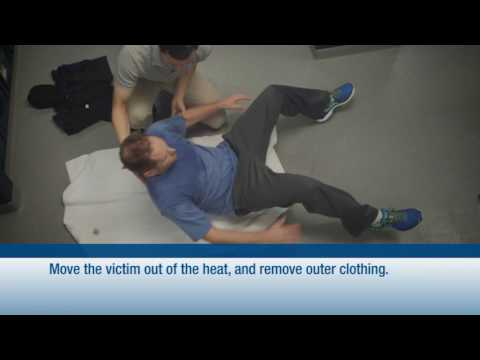 Heat exhaustion and heat stroke from the National Safety Council