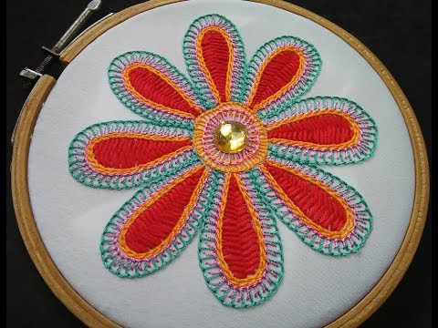 Hand Embroidery - Wine Stitch