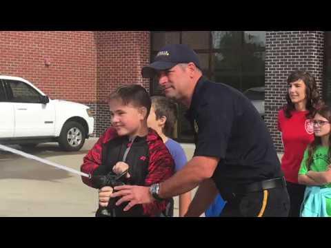 Clarksville Fire Dept - Elementary School Tour 10/16/2018