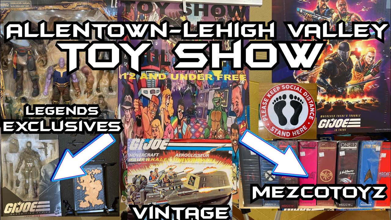 Allentown-Lehigh Valley Toy and Comic Book Show held at Charles Chrin Community in Palmer Pa 18045