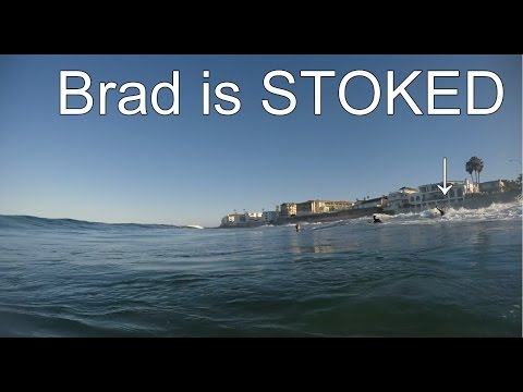Brad's Epic Wave!