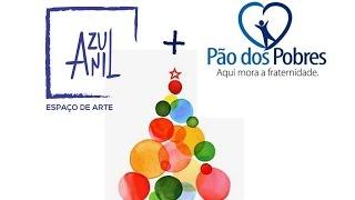 Natal Solidário Azul Anil + Pão dos Pobres