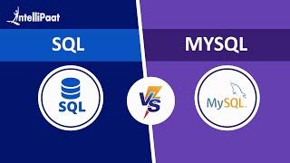 SQL vs MySQL | Difference between SQL and MySQL | Intellipaat