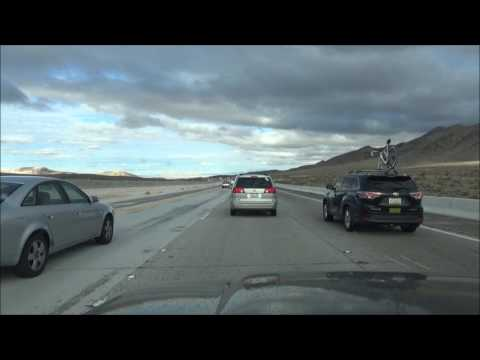 Driving from Jean, NV to Las Vegas, NV I-15 North
