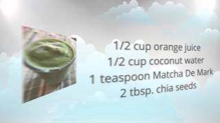 Matcha Superfood Smoothie Recipe - Matcha Green Tea Weight Loss - Buy Matcha Powder