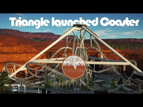 🐪 Triangle Launched Coaster | Clean Canyon | Planet Coaster