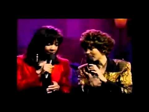 Whitney Houston & Natalie Cole - Bridge Over Troubled Water - Big Break 1990 FULL VERSION