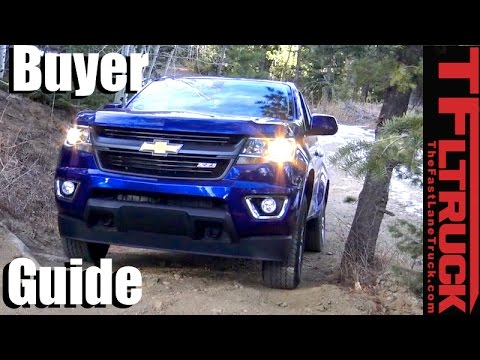 2017 Chevy Colorado Gmc Canyon Er Guide Helping You Pick The Right Mid Sized Gm Truck