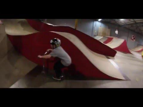 Rampworx Skatepark: Harry Pope and Tyler Kercher Scooter