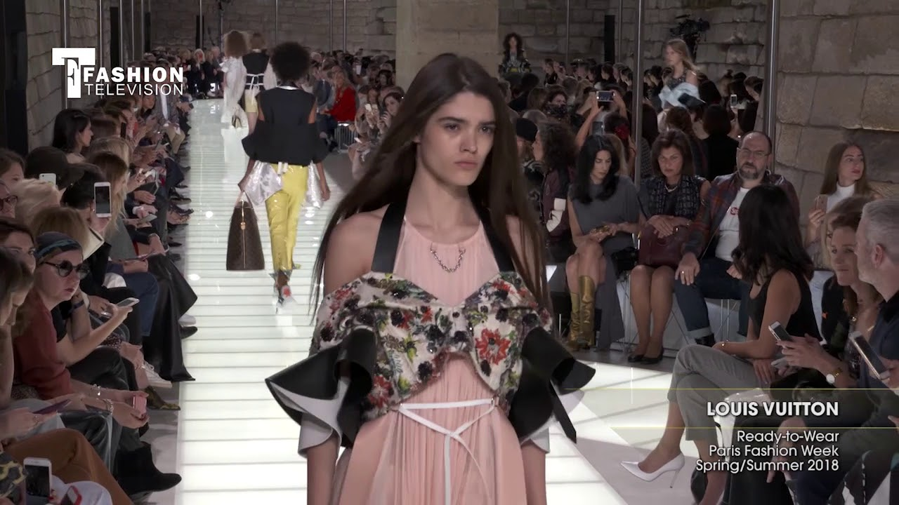 Louis vuitton spring summer 2018 dresses