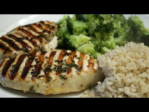 Bodybuilding Chicken & Low-Carb Rice