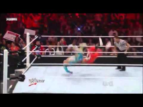 Sin Cara Finisher Off The Top Rope