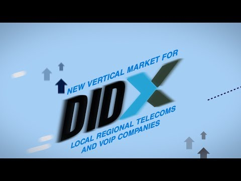 DIDX Drives Huge Vertical Market for Telecom, VoIP and Mobile Business via Direct Inward Dialing