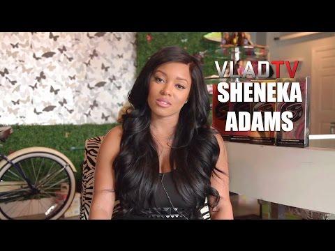 Sheneka Adams on Not Being Ashamed of Loving Her Good Looks