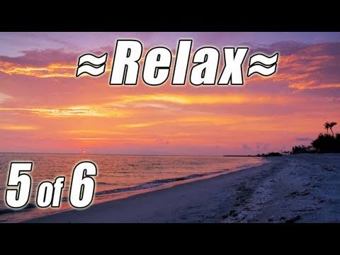 relaxing-nature-scenes-#5-ocean-sunset-waves-sounds-of-nature-most-soothing-calming-beach-relaxation