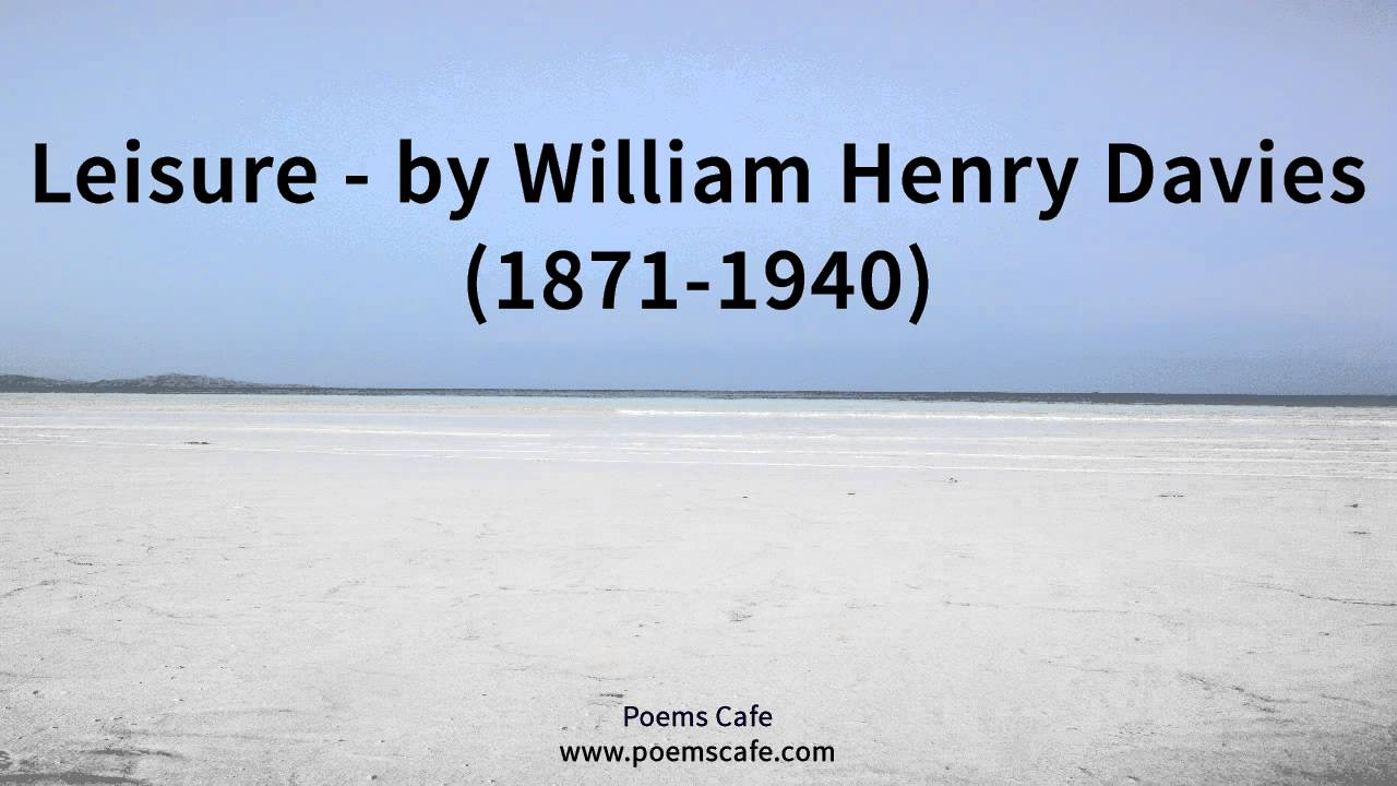 william henry davies poems
